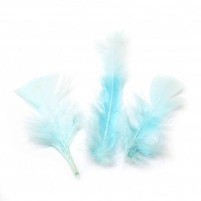 Перо 120~170x35~40 мм синьо светло -10 броя