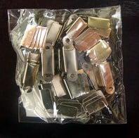 Накрайник 4х11мм.сребро -50бр.