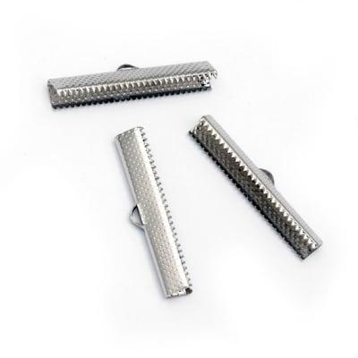 Накрайник 35 мм щипка сребро -20 броя