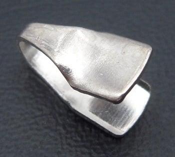 Накрайник 4x9 мм цвят сребро -20 бр