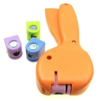Комплект перфоратор /пънч/ 10 мм за картон до 160 гр/м2 с 4 форми к2