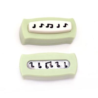 Перфоратор /пънч/ бордюрен 1 за картон до 160 гр/м2 мотив музикални ноти