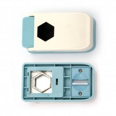 Перфоратор /пънч/ 25 мм за различни мтериали шестоъгълник