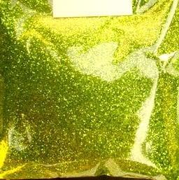 Брокат/глитер на прах 0.3 мм 250 микрона зелен -20 грама