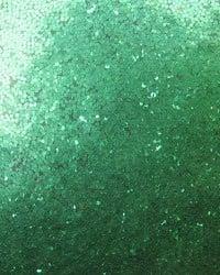 Брокат/глитер на прах 0.3 мм 250 микрона зелен тревисто-20 грама