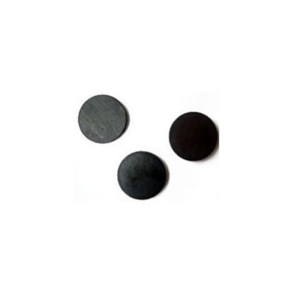 Магнит черен 20х3 мм -10 броя