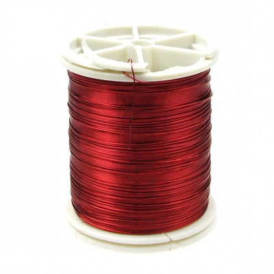 Тел медна 0.3 мм червена ~50 метра