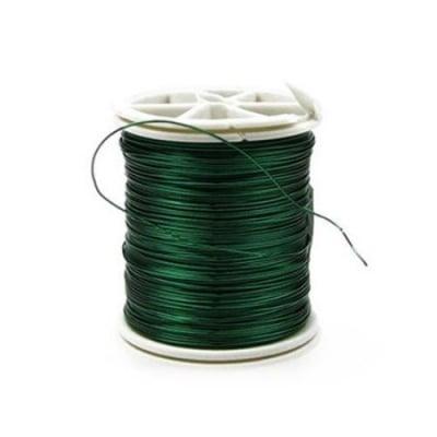 Тел медна 0.4 мм зелена ~26 метра