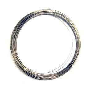 Тел за гердани 115х0.5 мм цвят сребро -50 навивки ~46 грама