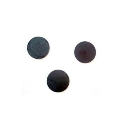 Магнит черен 25х4 мм -10 броя