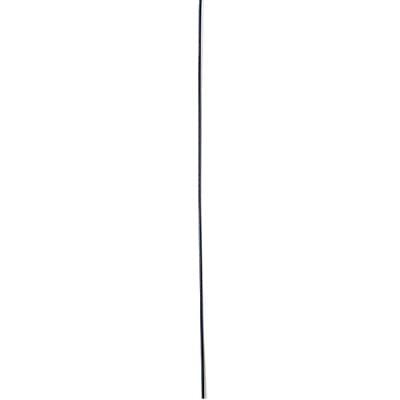 Корда стоманена 0.45мм. черна
