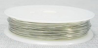 Медна тел 0.3 мм сребро ~12 метра
