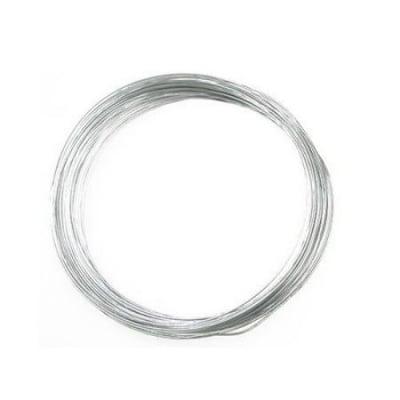 Тел алуминиева 0.8 мм цвят сребро ~10 метра