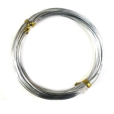 Тел алуминиева 1 мм цвят сребро -10 метра