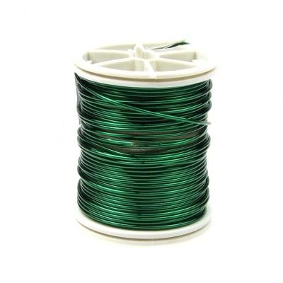 Тел медна 1.0 мм зелена ~6 метра