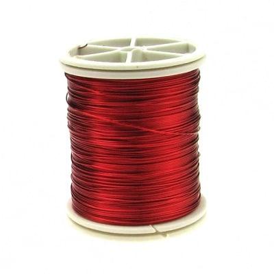 Тел медна 0.4 мм червена ~26 метра