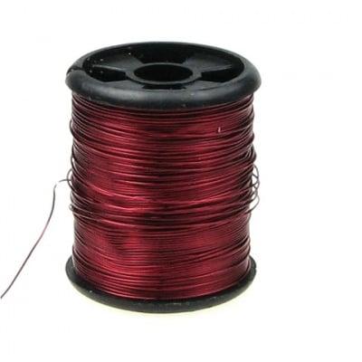 Тел медна 0.3 мм червена ~9.5 метра