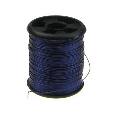 Тел медна 0.3 мм лилава тъмна ~9.5 метра