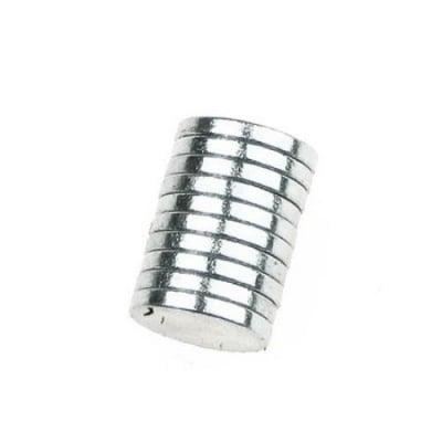 Магнит никел 10х2 мм -10 броя