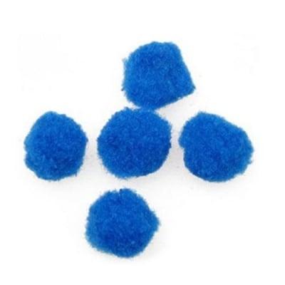 Помпони 12 мм сини -20 броя