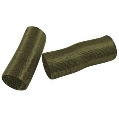 Тел за пръстен 22x0.6 мм цвят бронз -50 навивки