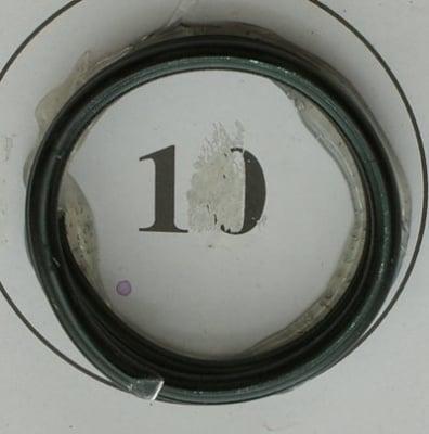 Тел алуминиева 2 мм цвят черен ~6 метра
