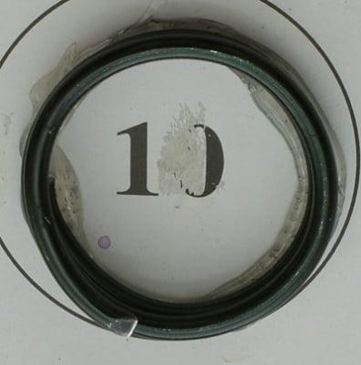 Тел алуминиева 1.5 мм цвят черен ~5 метра