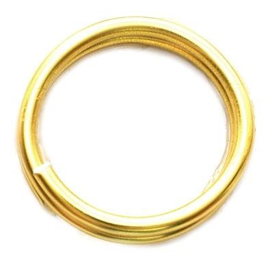 Тел алуминиева 1.5 мм цвят злато -6 метра