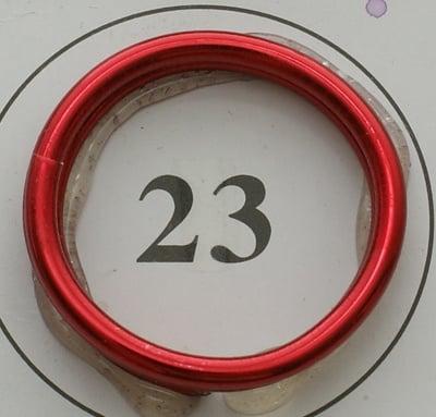 Тел алуминиева 2 мм цвят червен ~5 метра