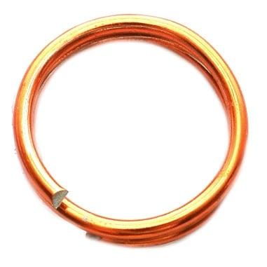 Тел алуминиева 2 мм цвят оранжев -6 метра