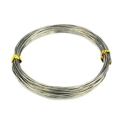 Алуминиева тел 0.8 мм цвят сив ~10 метра