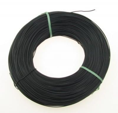 Тел 1 мм с покритие черно-365 метра