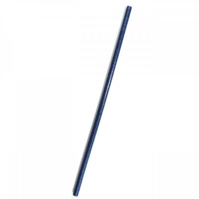 Силикон 7 мм х 240 мм с брокат син