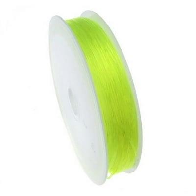 Силикон 0.6 мм зелен светъл ~13 метра