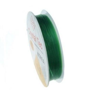 Силикон 0.6 мм зелен ~13 метра