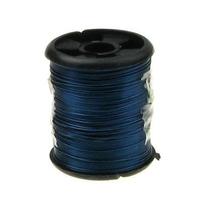 Тел медна 0.3 мм синя ~9.5 метра