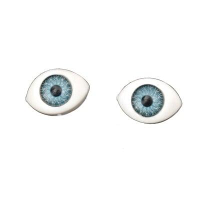 Очички 12x8x5 мм сини -10 броя