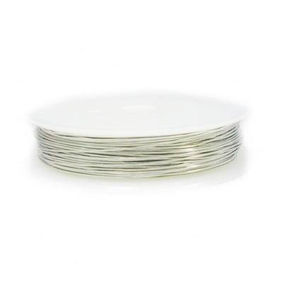 Медна тел 0.4 мм сребро ~12 метра