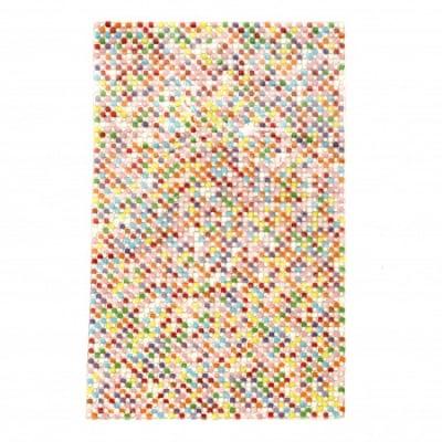 Акрилни камъни за топло залепване квадрат 2.5x2.5 мм АСОРТЕ цветове и кръг 2 мм прозрачен 120x200 мм -1 брой