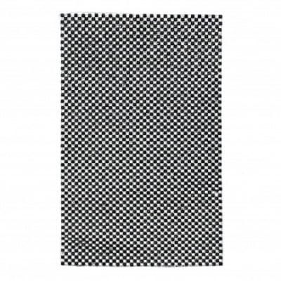 Акрилни камъни за топло залепване квадрат 2.5x2.5 мм черен и кръг 2 мм прозрачен 120x200 мм -1 брой