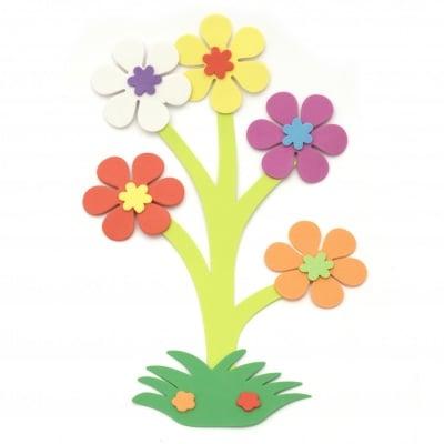 Букет цветя фоам /EVA материал/ 180x285 мм - 6 броя