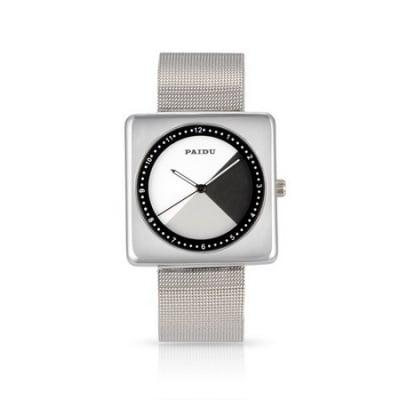 Ръчен кварцов часовник стомана 235x22 мм. 38x38.5x8 мм. 32x32 мм.
