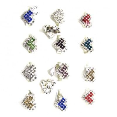 Пръстен с кристали