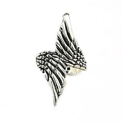 Пръстен метал 17 мм крила