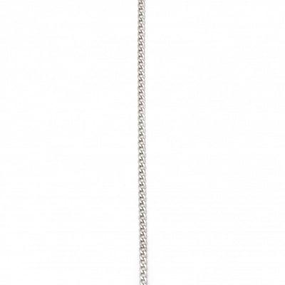 Стоманен синджир неръждаема 316L 600x4 мм цвят сребро