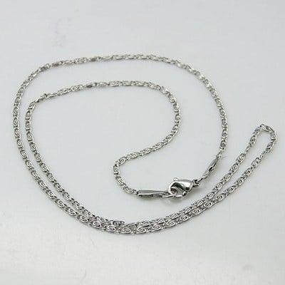 Синджир стомана неръждаема 316L 580x2.5 мм цвят сребро
