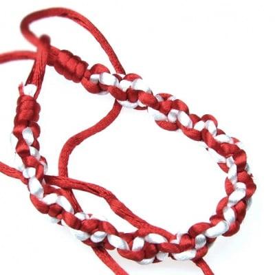 Гривна мартеница плетена 10 броя