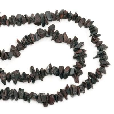 Наниз полускъпоценни камъни чипс 5-7 мм ~90 см
