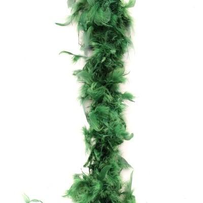 Марабу - шал от пера 180 см зелен