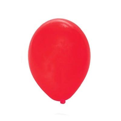 Балони цвят червен-10 броя